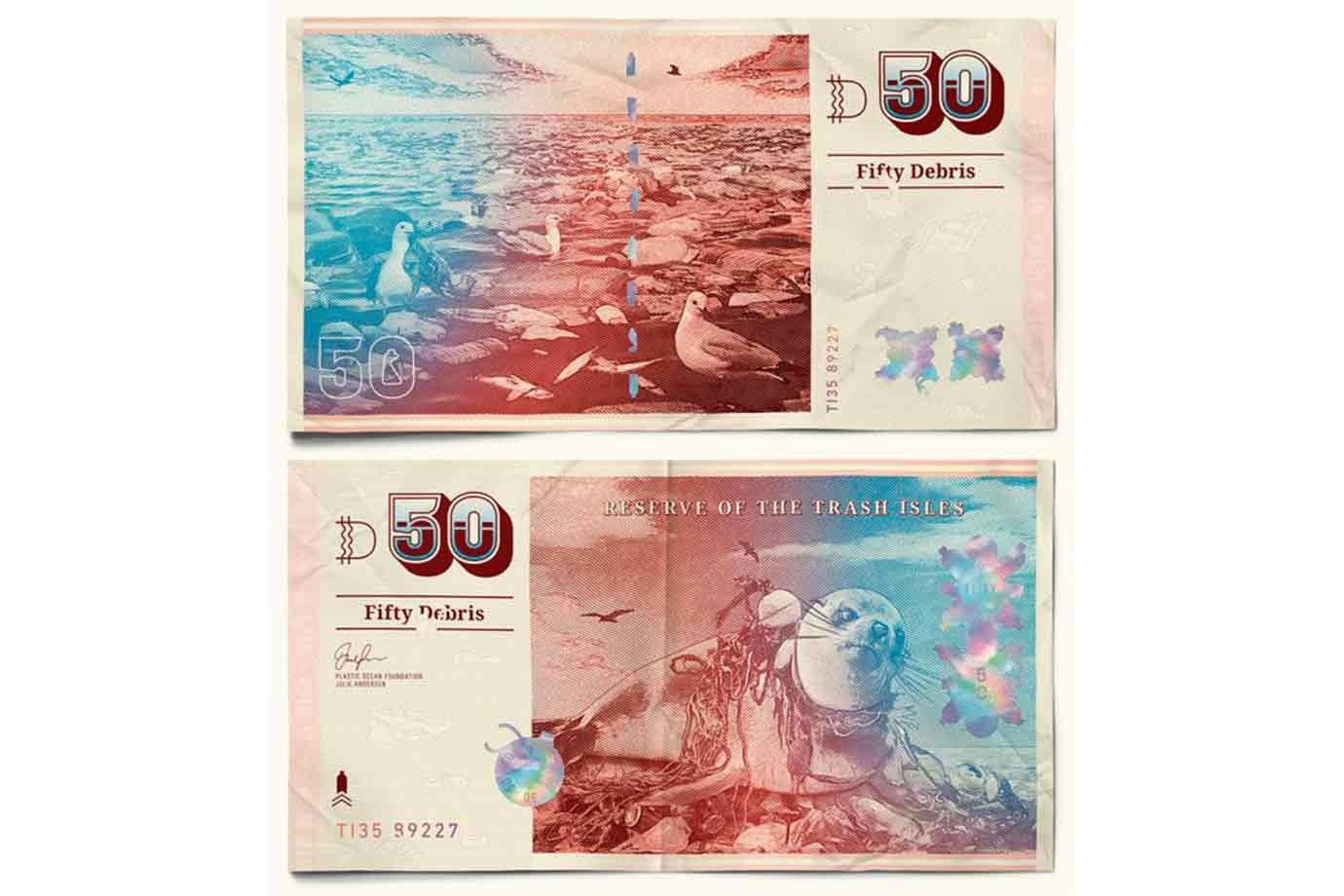 """""""Escombro"""": a moeda das Ilhas de Lixo."""
