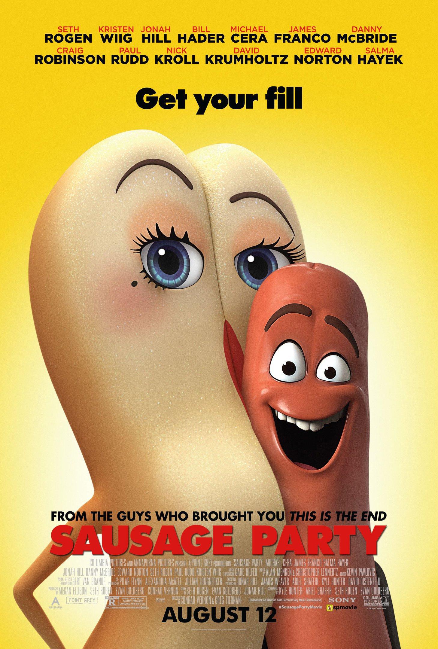 """Filme """"Festa da Salsicha"""", animação para adultos"""