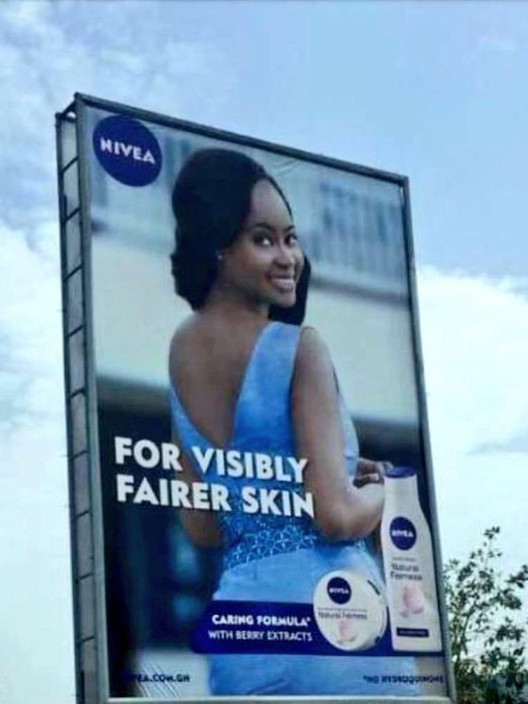 Nivea promete branquear pele negra e é acusada de racismo