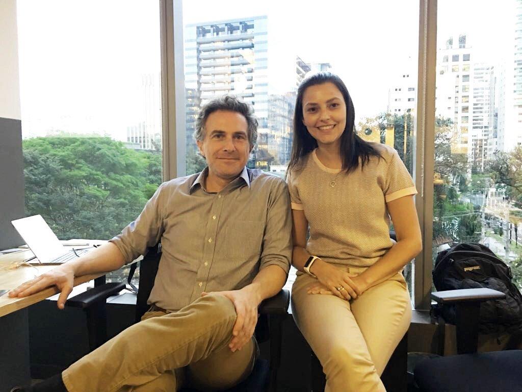 Pedro Guimarães e Camila Requena, sócios da Fiduc