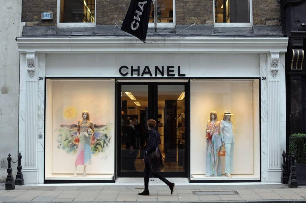Loja da Chanel em Londres