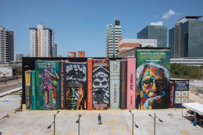Kobra faz reverência à literatura do Maranhão