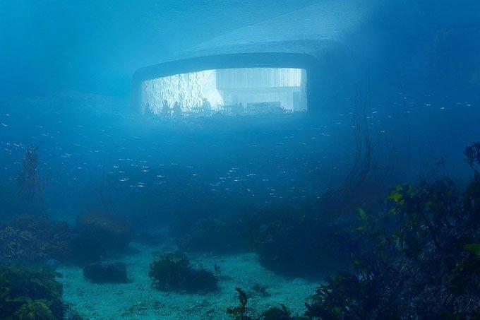 Under: o primeiro restaurante embaixo d'água da Europa