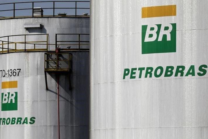 Tanques da Petrobras em refinaria da estatal em Paulínia, no Estado de São Paulo, Brasil