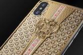 """iPhone X """"Imperial Crown"""", da fabricante russa Caviar"""