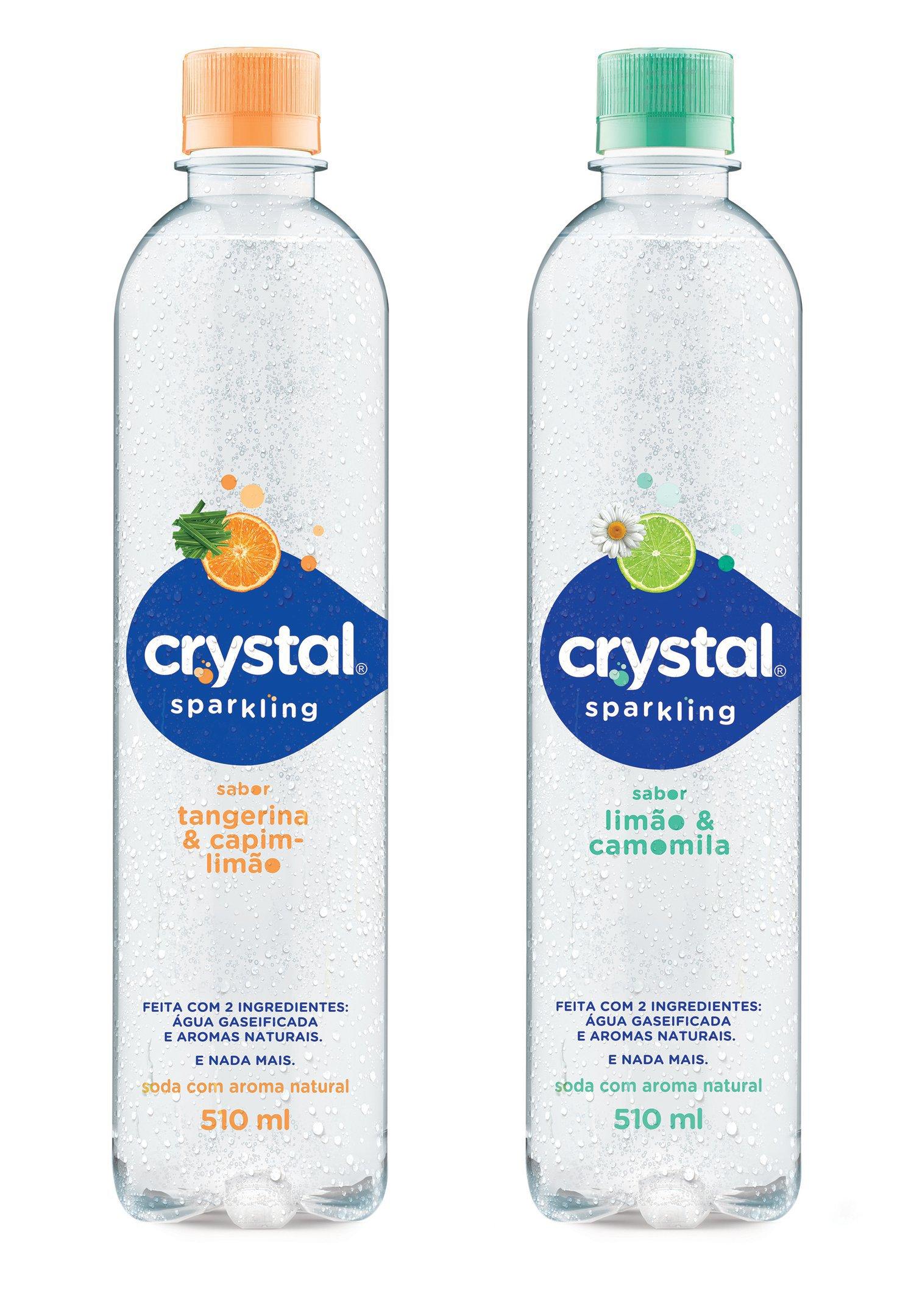 Crystal Sparkling: lançamento da Coca-Cola Brasil traz água gaseificada com aromas