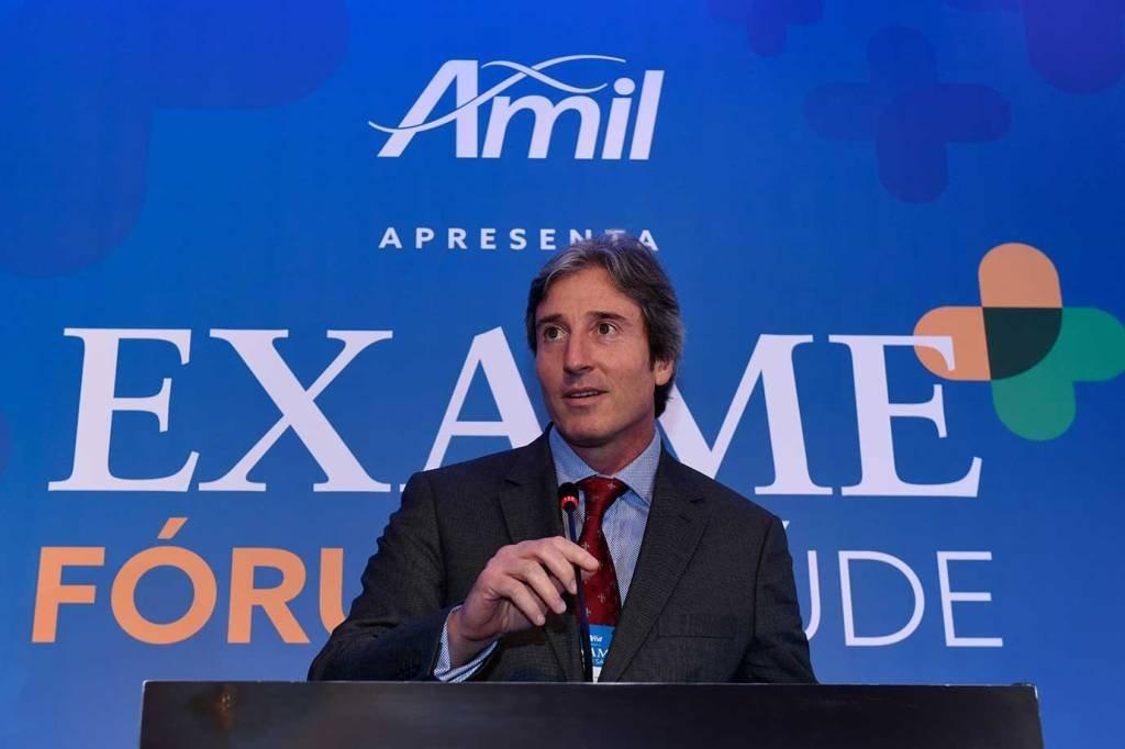 Enrico de Vettori, da Deloitte, no EXAME Fórum Saúde em 7/nov/2017