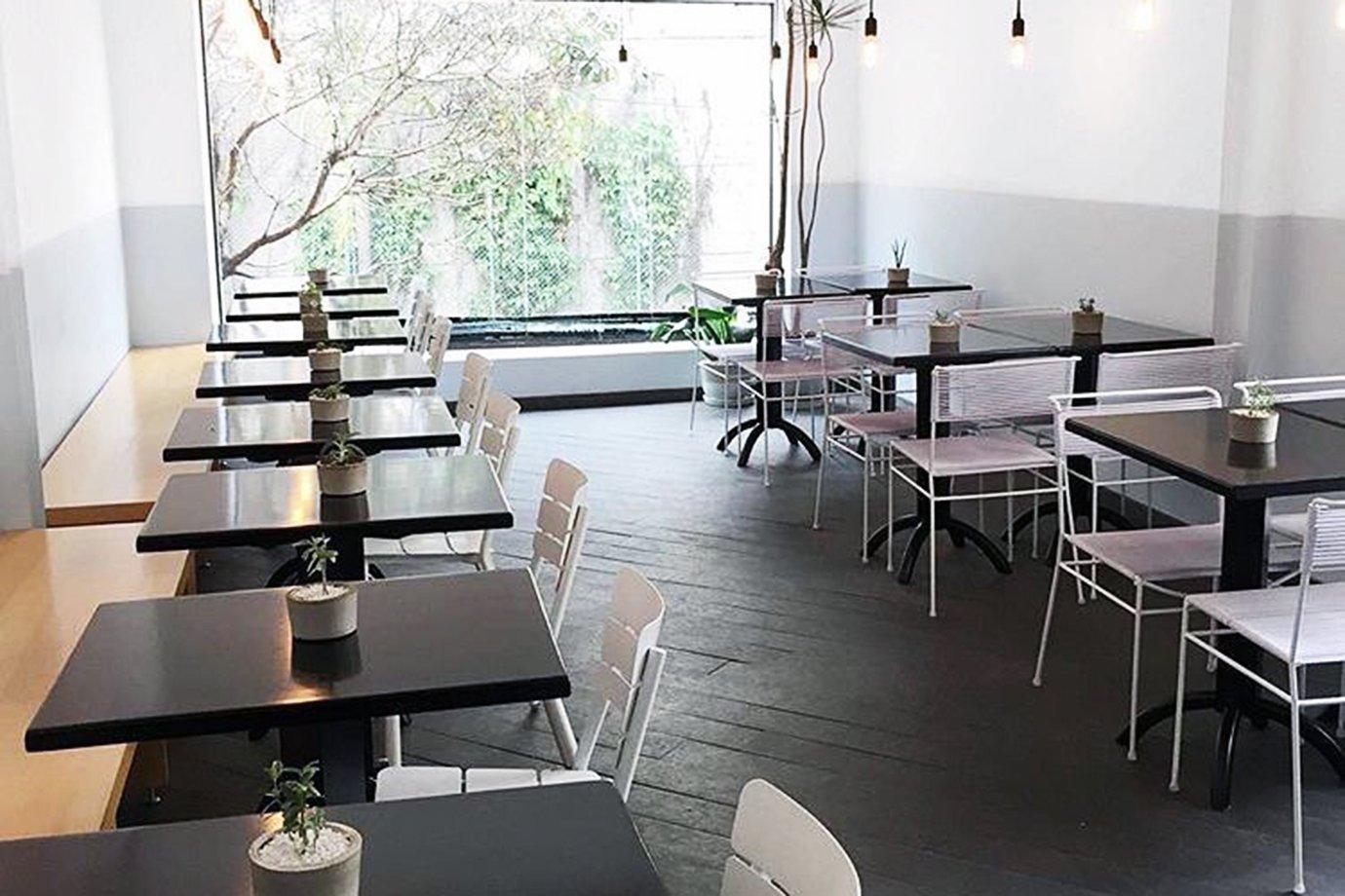 Restaurante do Hi Pokee, no centro de São Paulo