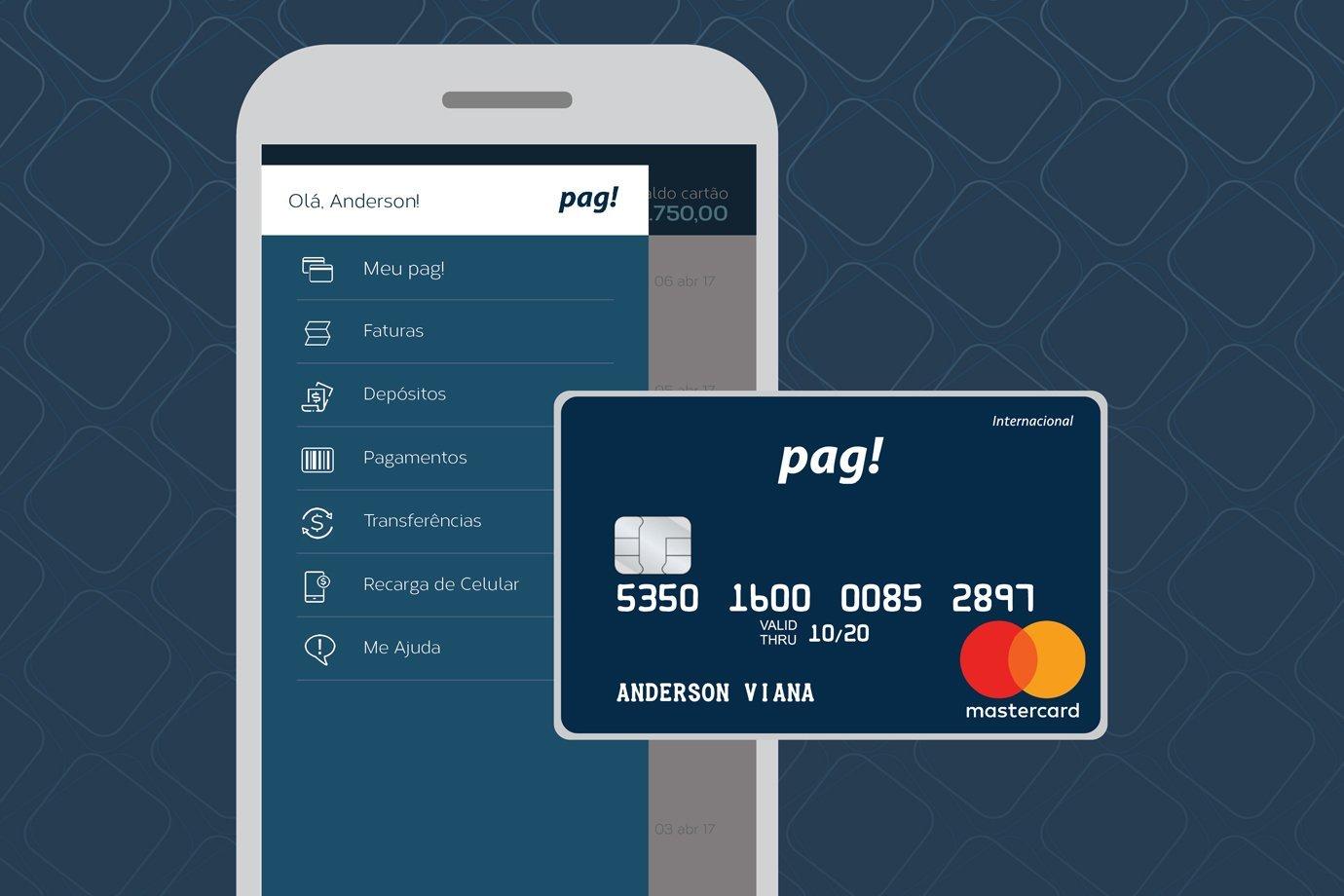 App MeuPag! e cartão de crédito da marca