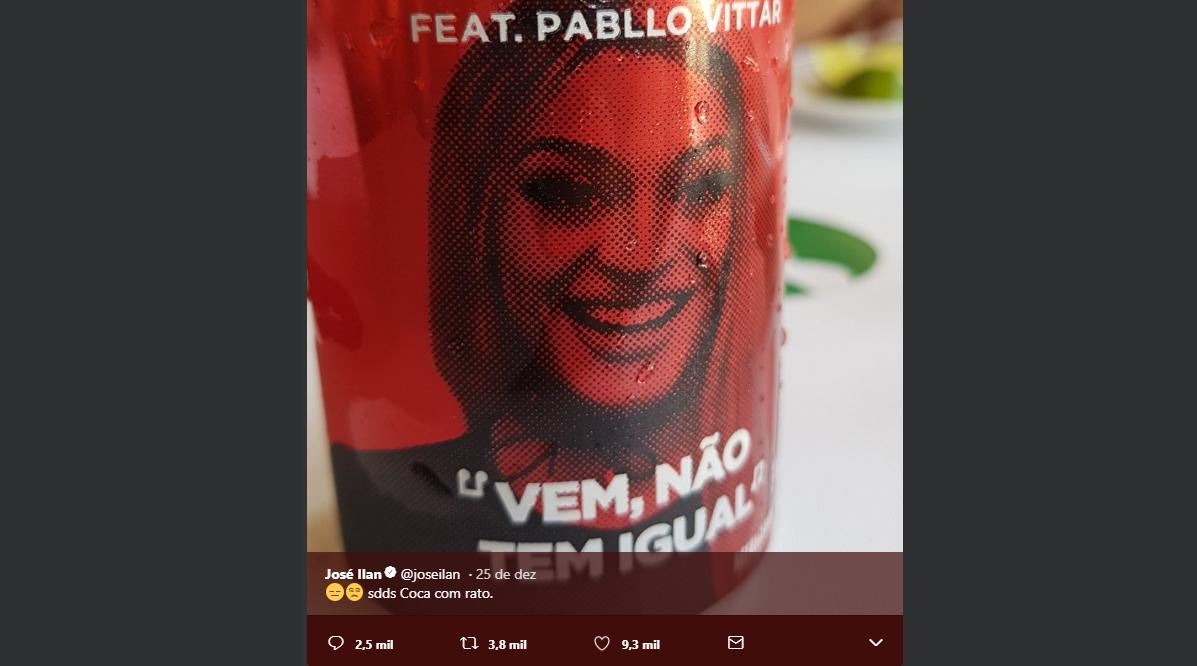 José Ilan, da Fox: piada sobre Coca-Cola e rótulo com cantora Pabllo Vittar
