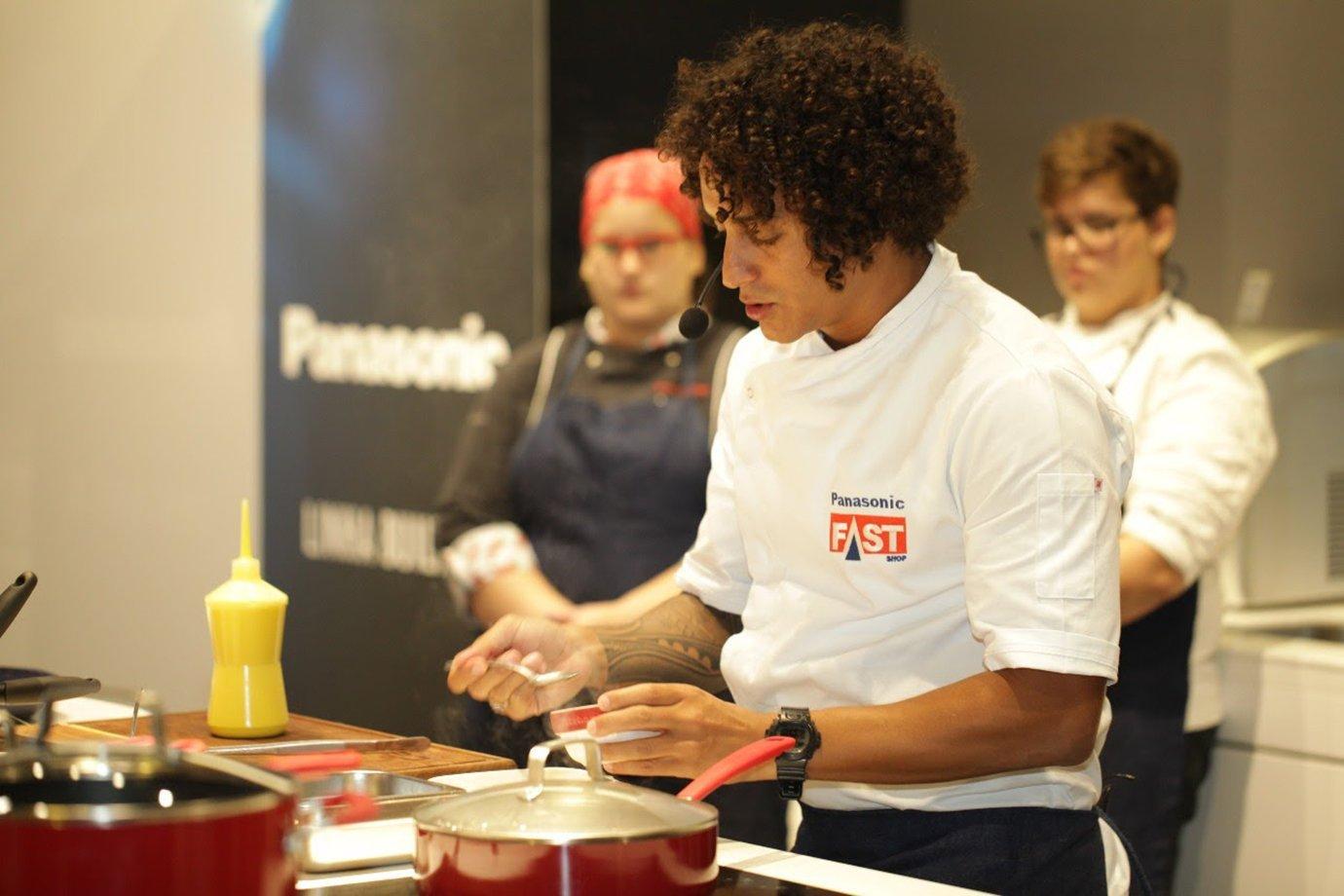 Dário Costa em ação para a marca Panasonic