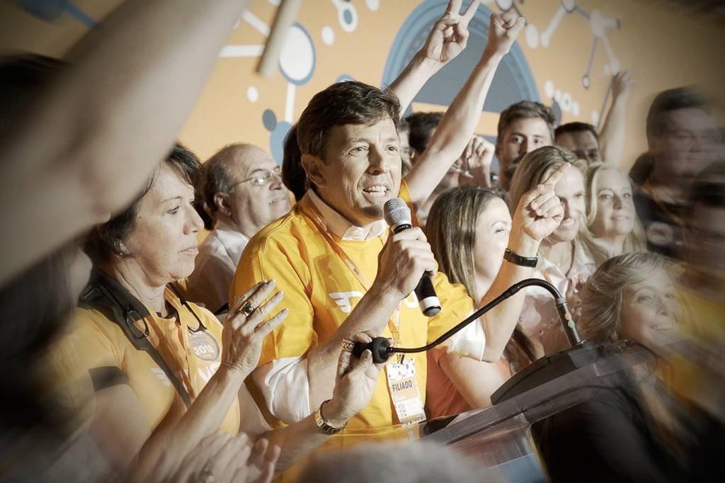 João Amoedo, pré-candidato do partido Novo à presidência