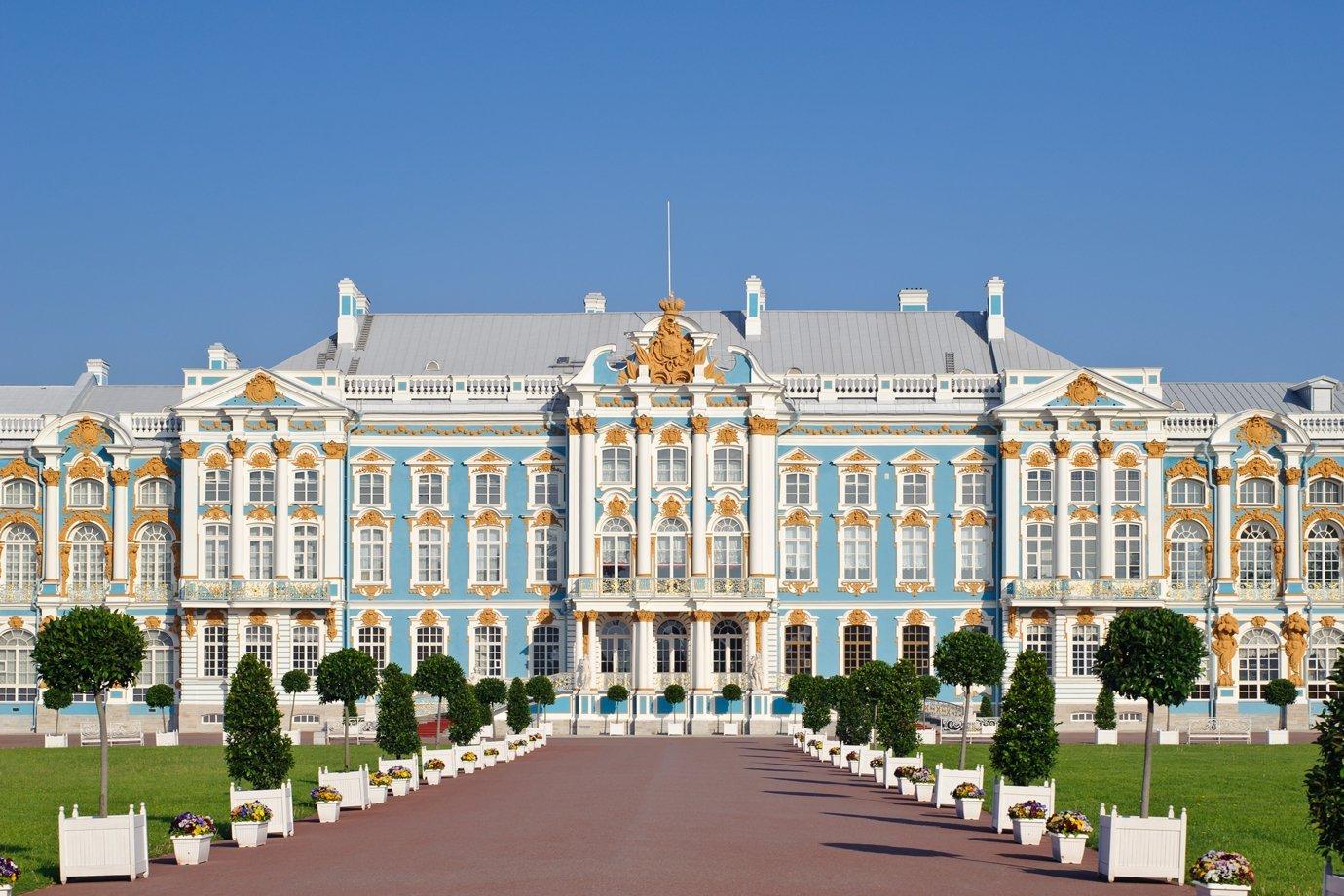 Palácio Catherine, em São Petersburgo