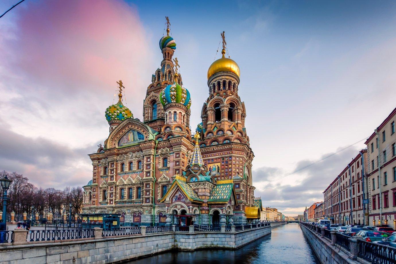 São Petersburgo, na Rússia