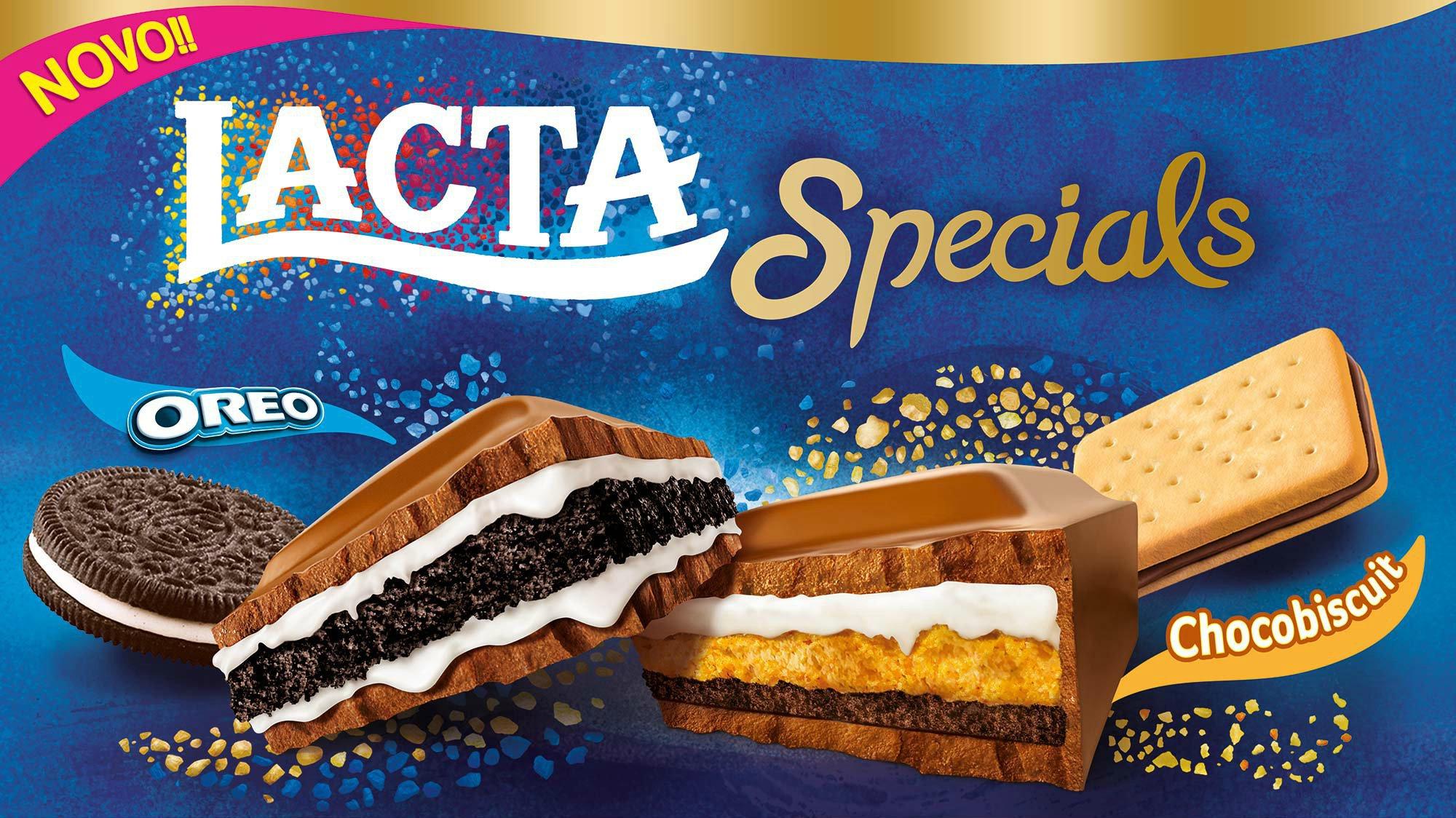 Chocolates: Lacta lança barras especiais com mais de 300g