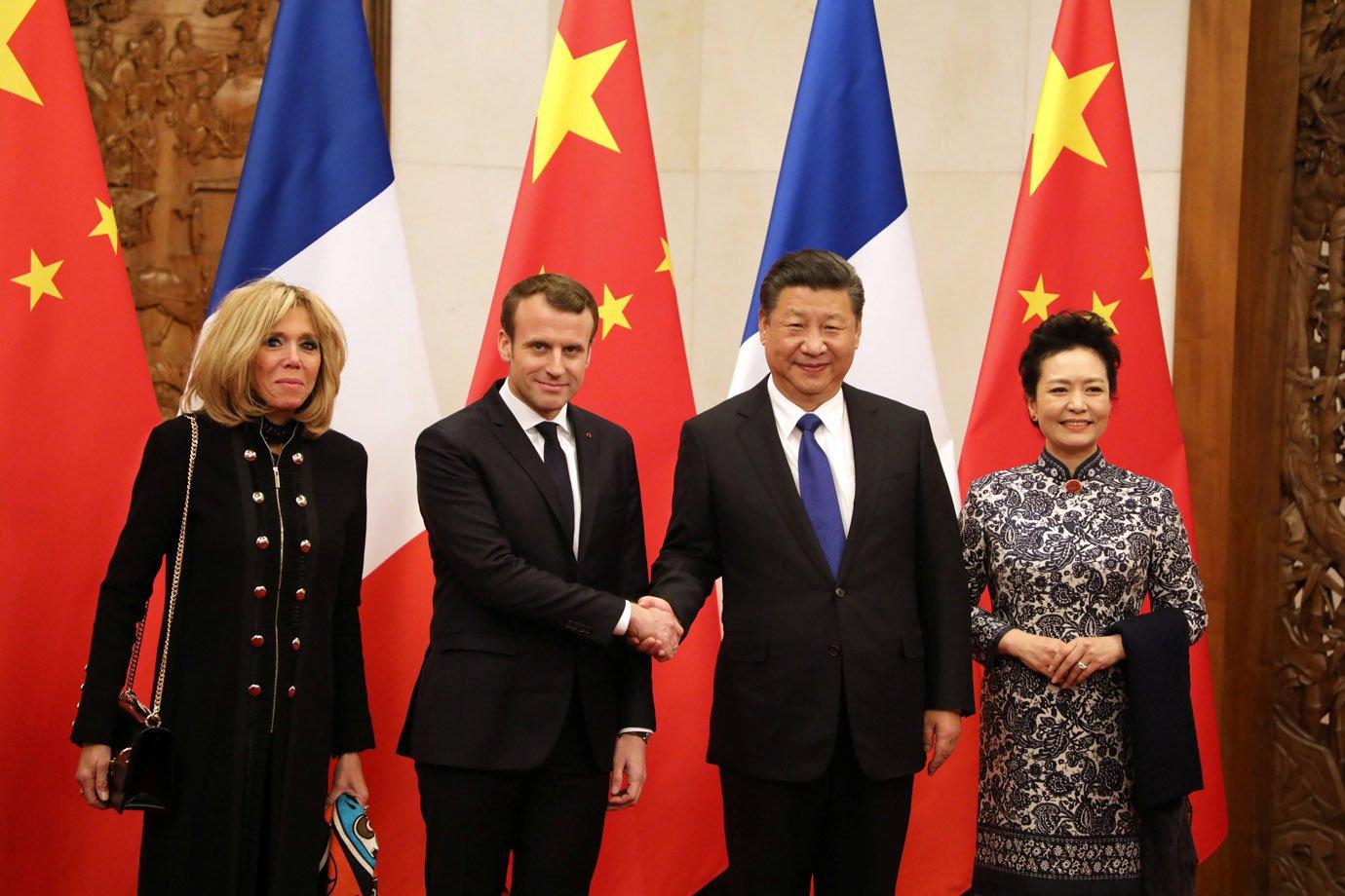 Em Visita A China Macron Pede Parceria Sobre Clima E Africa Exame