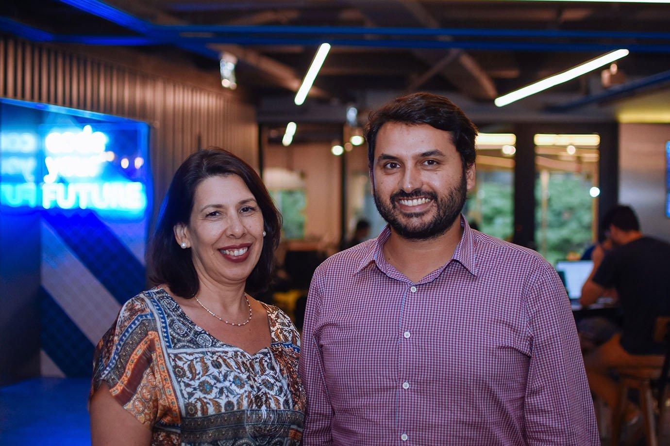 Denise Asnis e Renato Dias, dois dos sócios da TAQE