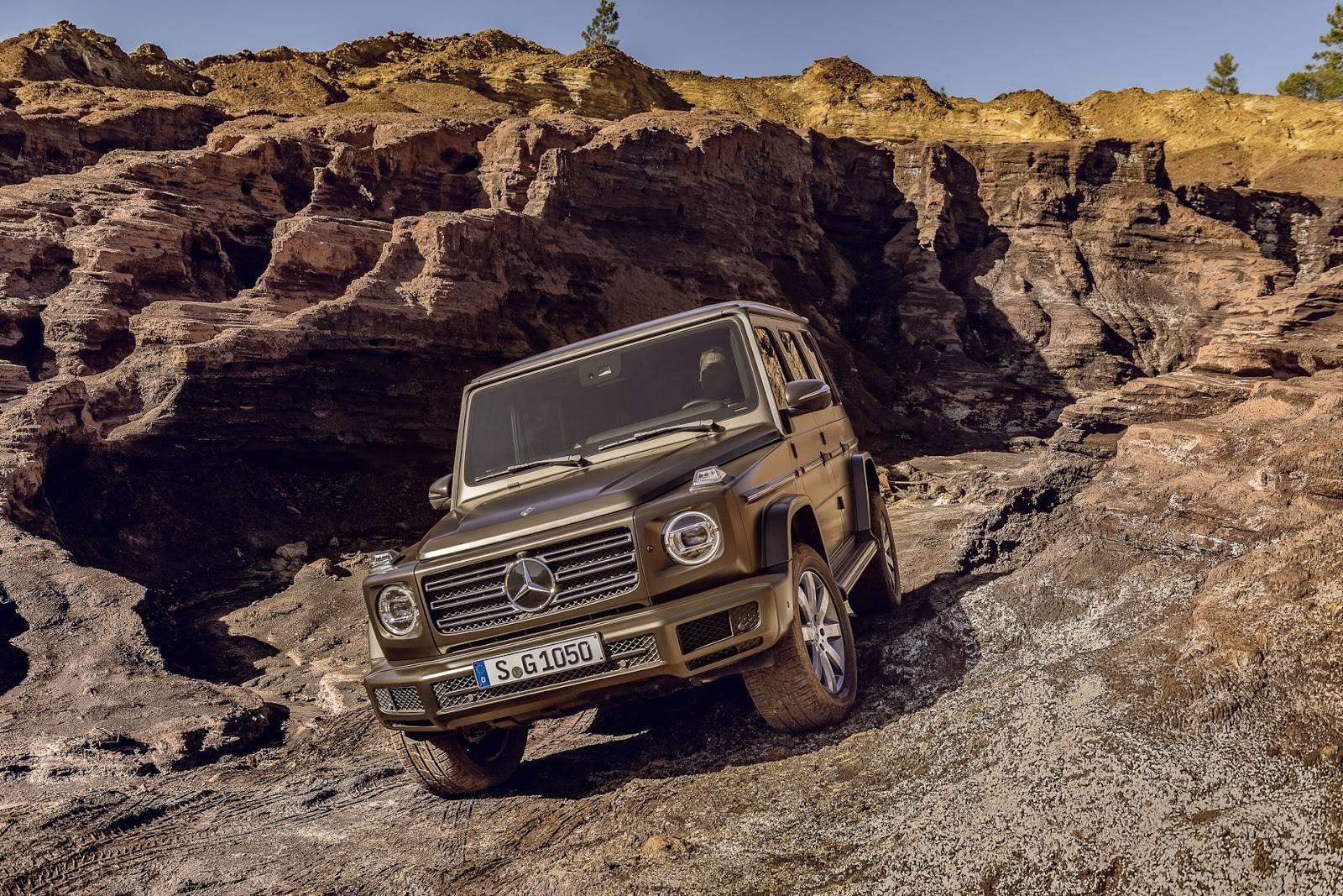 Nova versão do SUV Mercedes-Benz Classe G