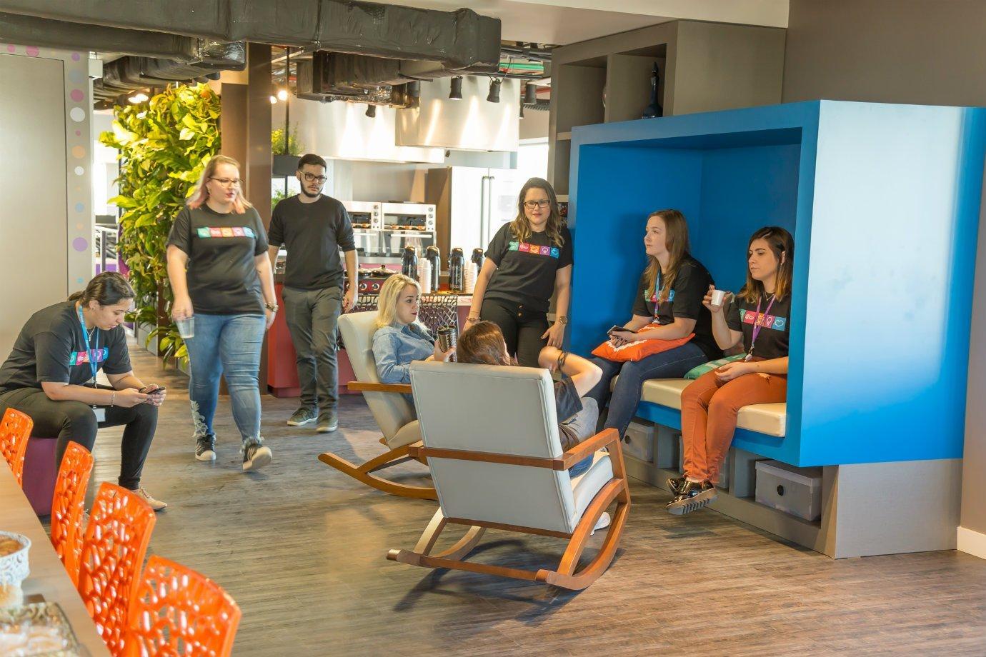 Escritório da startup Zenvia