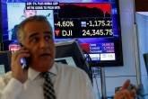 Bolsa de Nova York, Dow Jones tem pior dia da história, dia 05/02/2018