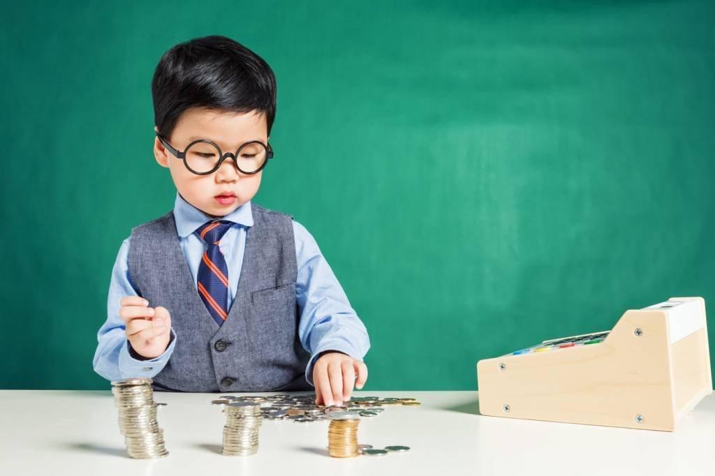 Criança e dinheiro