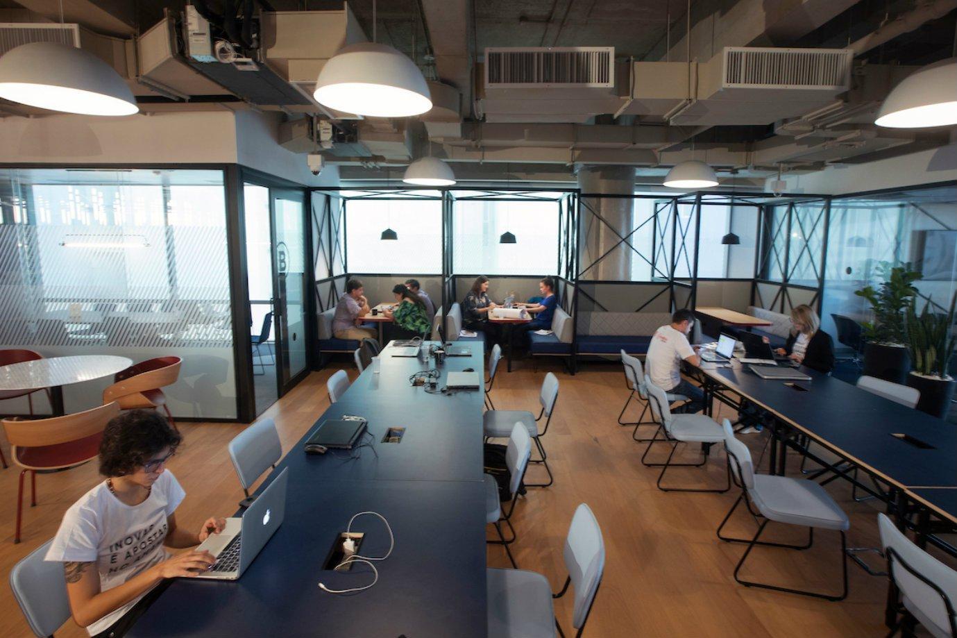 Habitat, espaço de coworking para startups do Bradesco