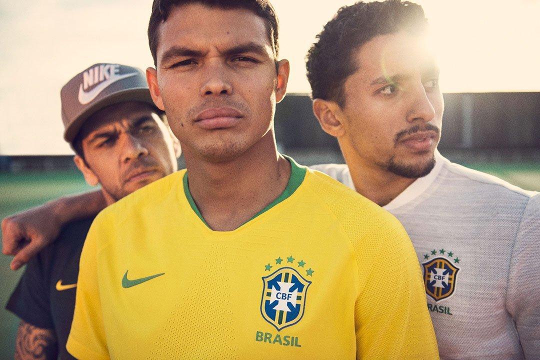 Seleção Brasileira: Nike divulgou uniformes para Copa da Rússia
