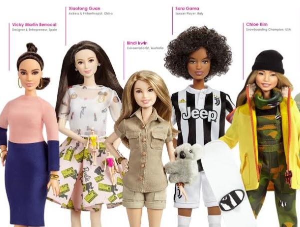 Barbie, da Mattel: nova coleção traz mulheres inspiradoras