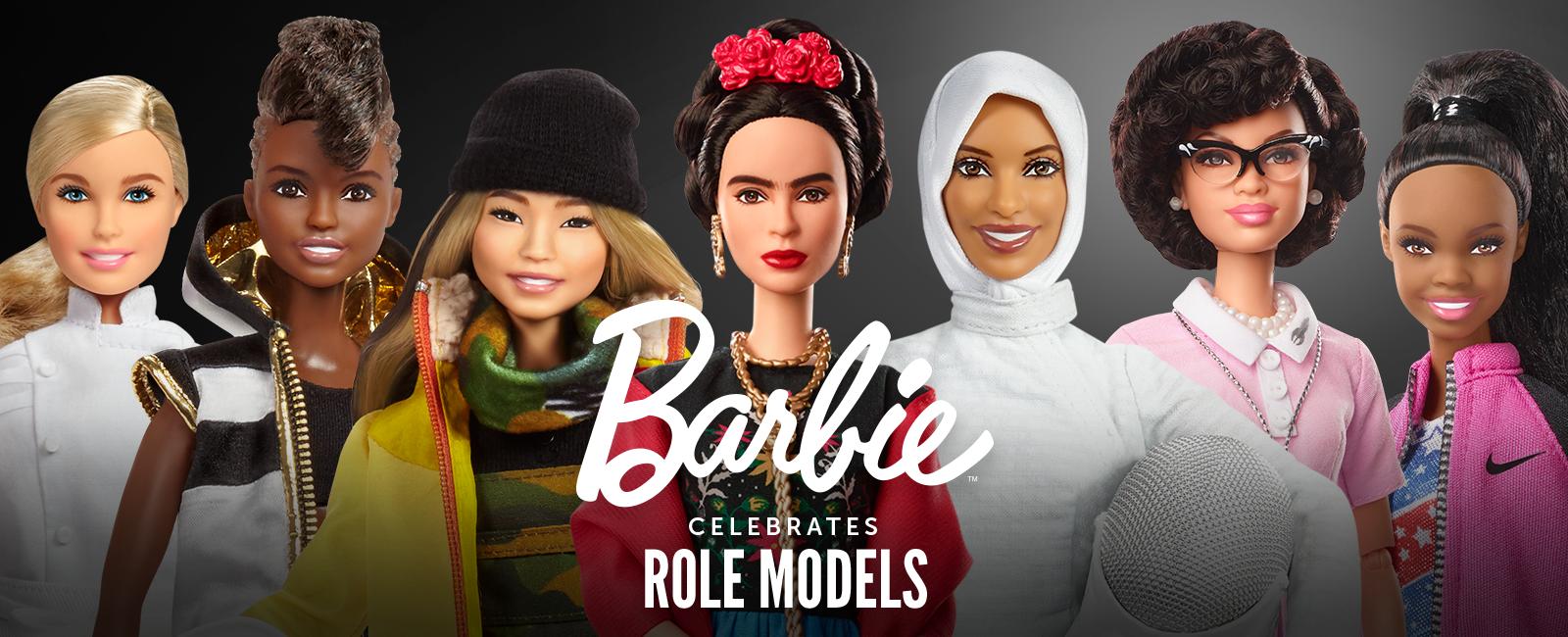 Barbie, da Mattel: coleção traz mulheres inspiradoras