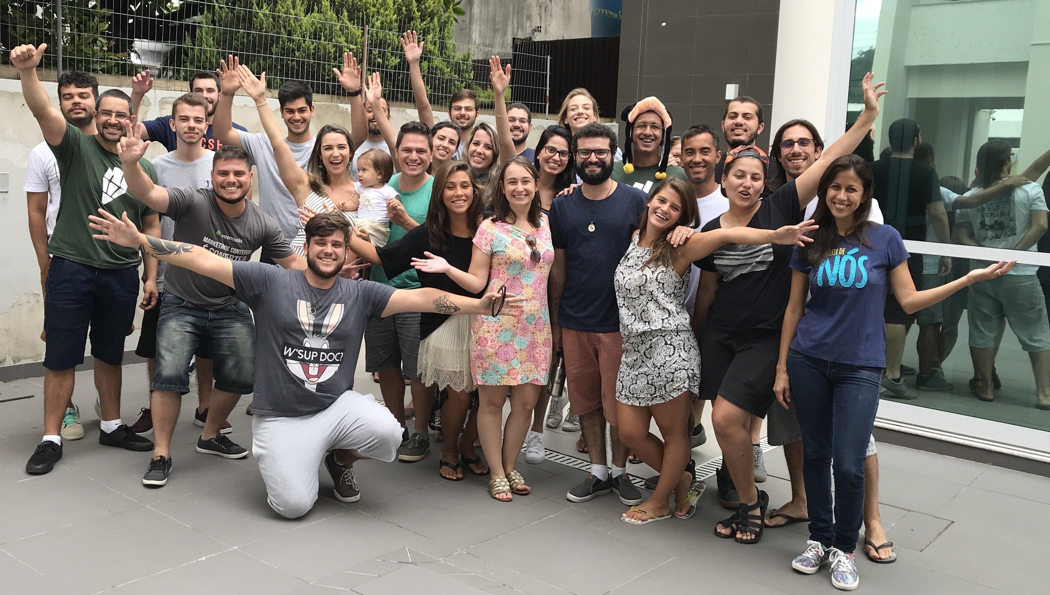 Equipe da Contentools em Florianópoilis