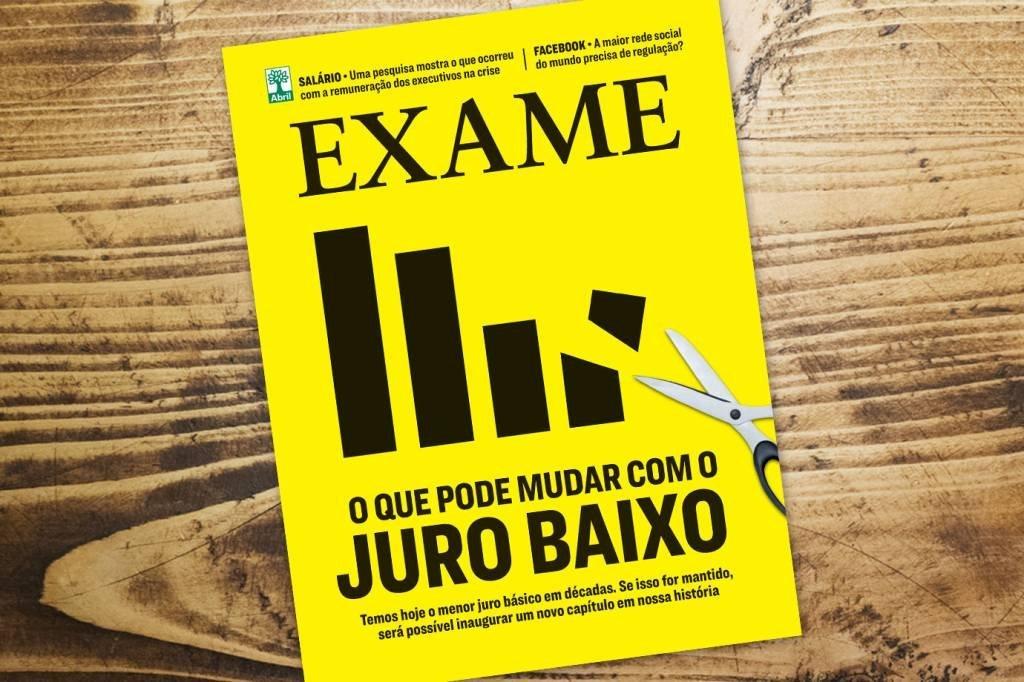 Capa da revista Exame 1158