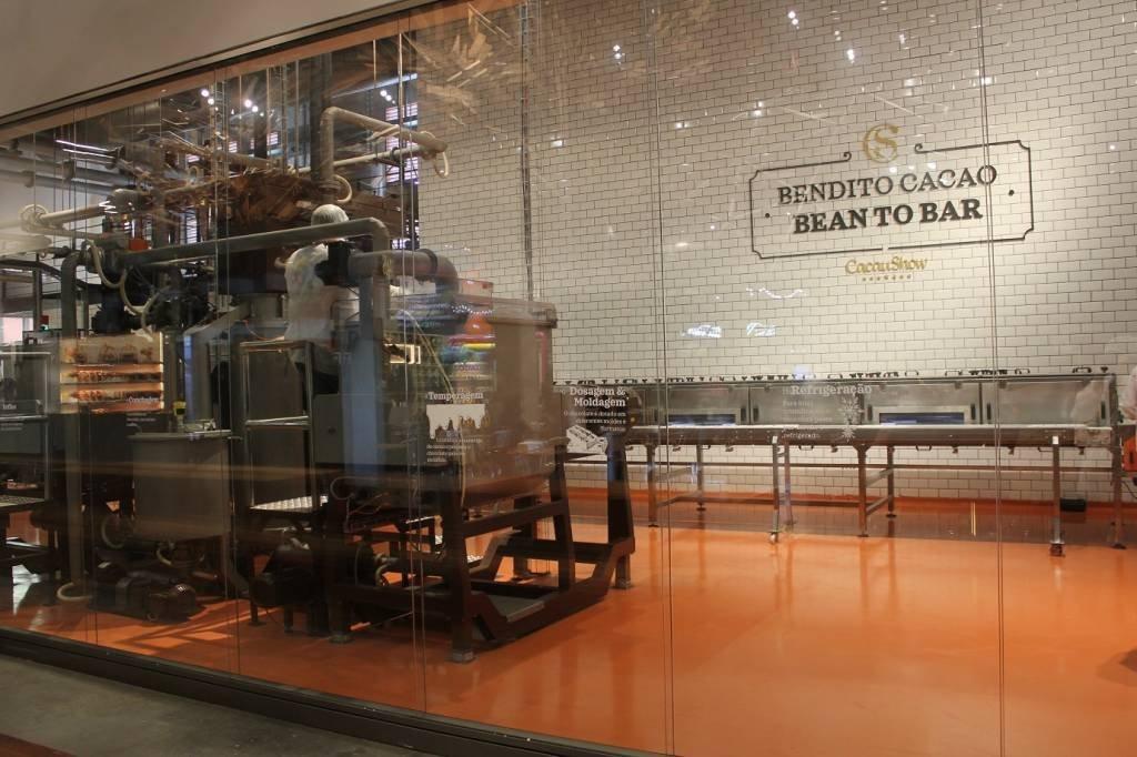 A fábrica Bendito Cacao Bean to Bar