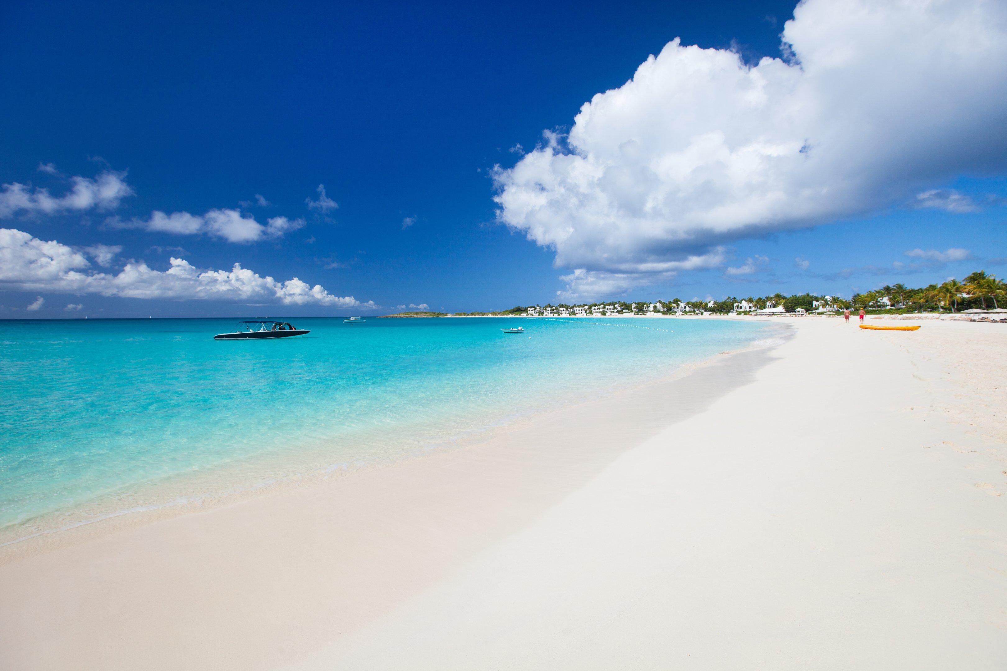 Providenciales, nas Ilhas Turcas e Caicos, no Caribe