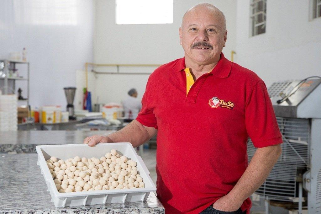 O empreendedor Luis Belentani, que tem uma rede com faturamento de R$ 15 milhões