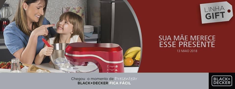 Campanha da Black & Decker: lançamento para Dia das Mães