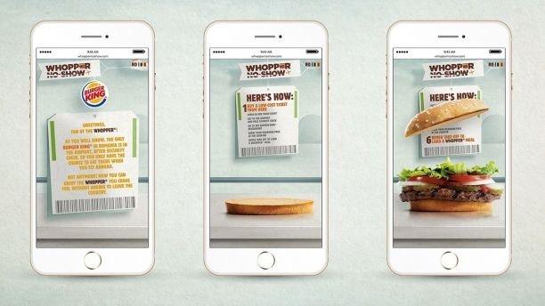 Burger King na Romênia: ação da marca brinca com único restaurante que fica dentro do aeroporto, depois do check-in