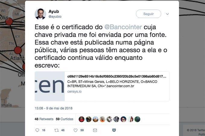 Ayub-Banco-Inter-Chave