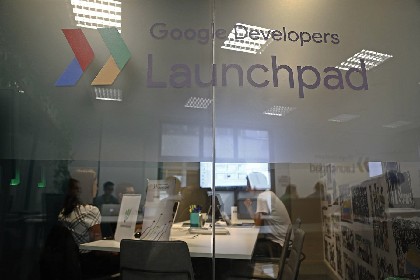 Sala do Google Launchpad Accelerator