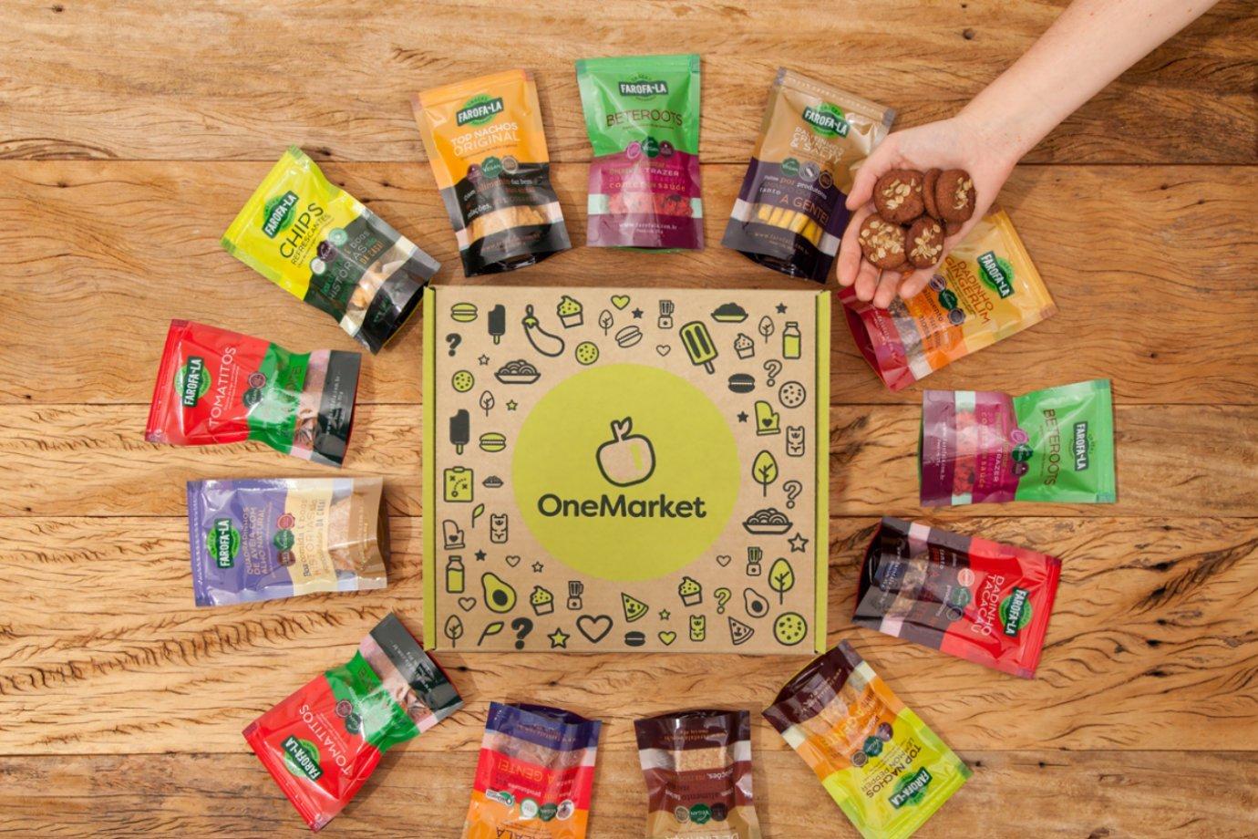 Produtos comercializados da One market