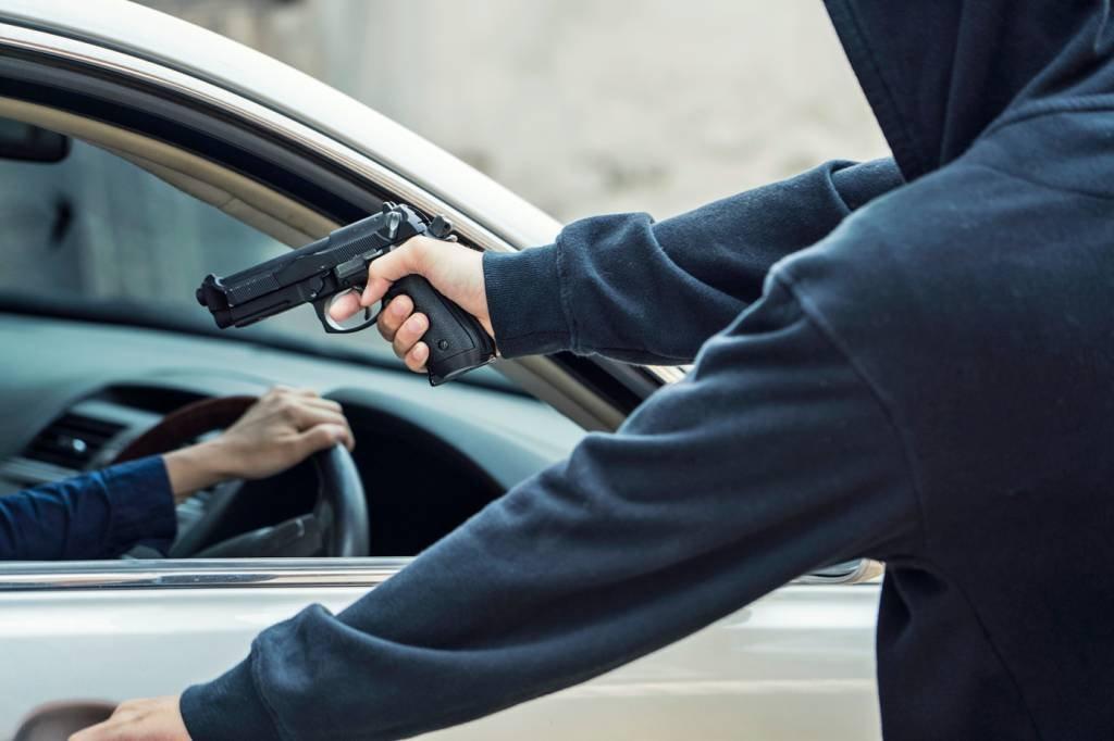Ladrão e carro