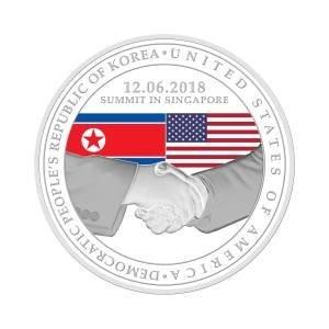 Singapura lança moeda para marcar cúpula Trump-Kim