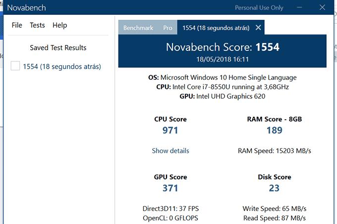 Benchmark-Novabench-Dell-inspiron-14-7000
