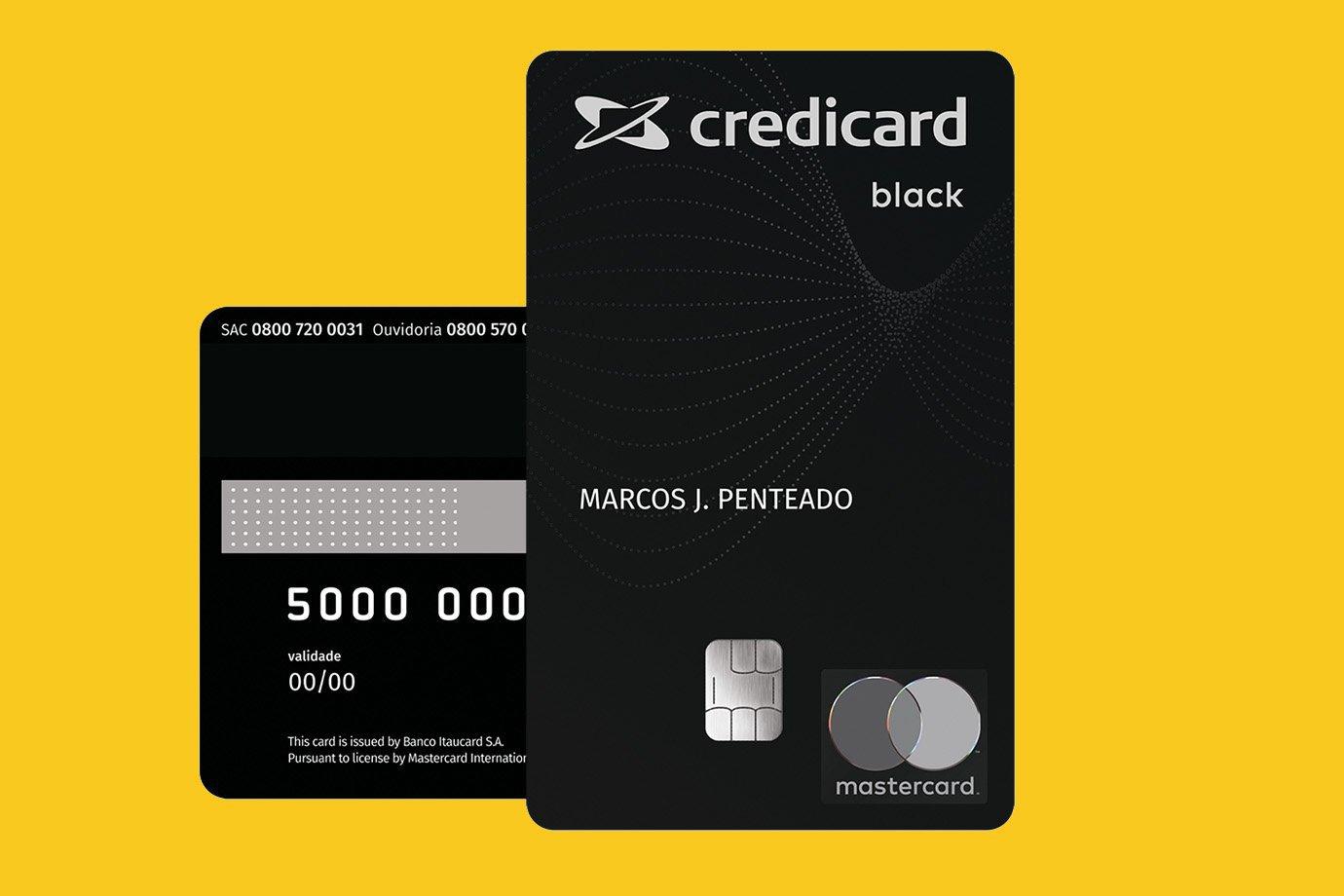 Credicard Mastercard Black