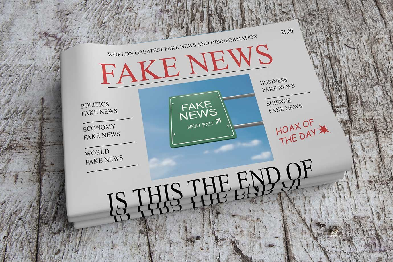 Fake News jornal