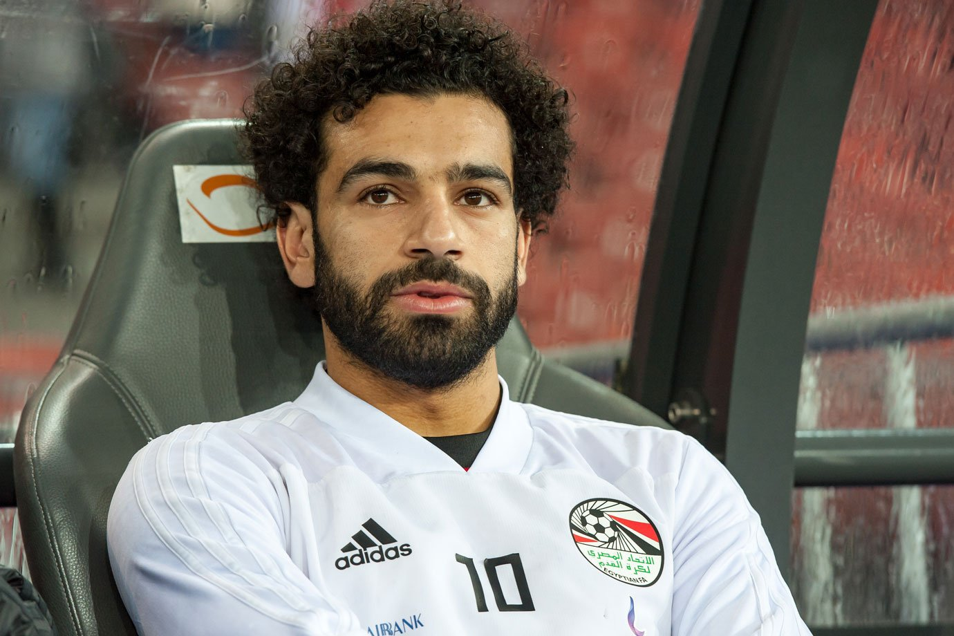Atacante da seleção do Egito, Mohamed Salah