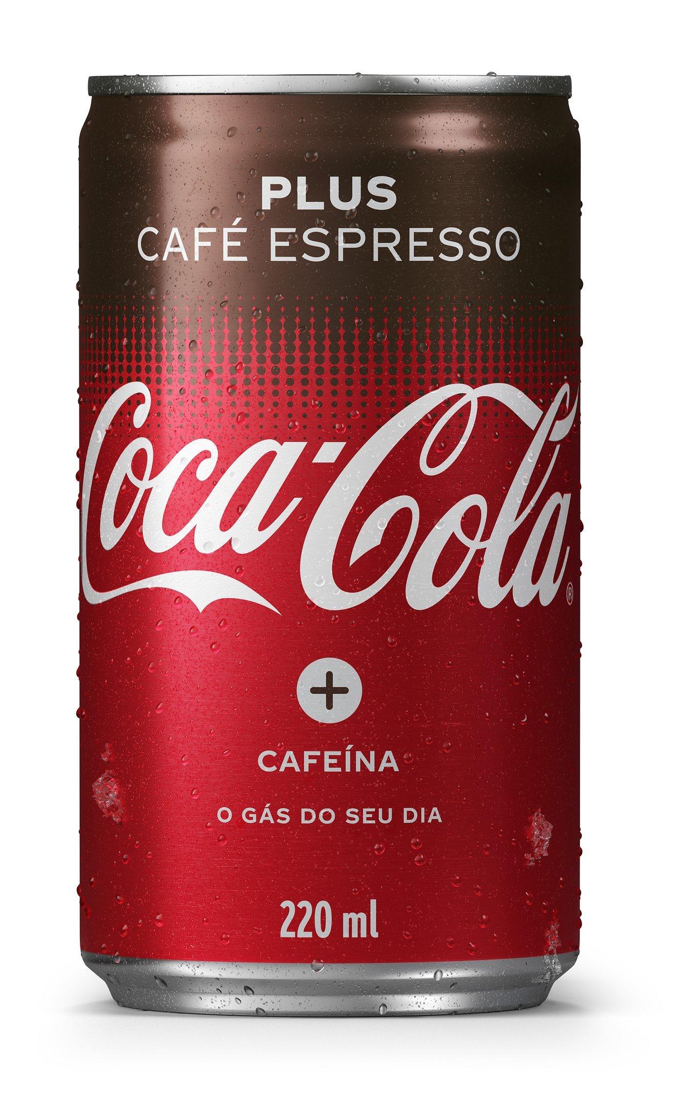 Coca-Cola Plus Café Espresso: lançamento no Brasil