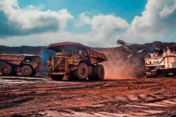 Minério de ferro da Vale: empresa teve que cortar oferta depois da tragédia de Brumadinho