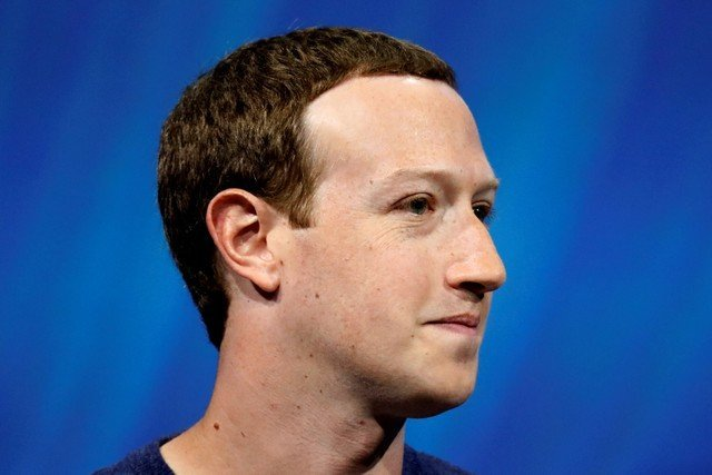FILE PHOTO: Facebook's founder and CEO Mark Zuckerberg speaks at the Viva Tech start-up and technology summit in Paris