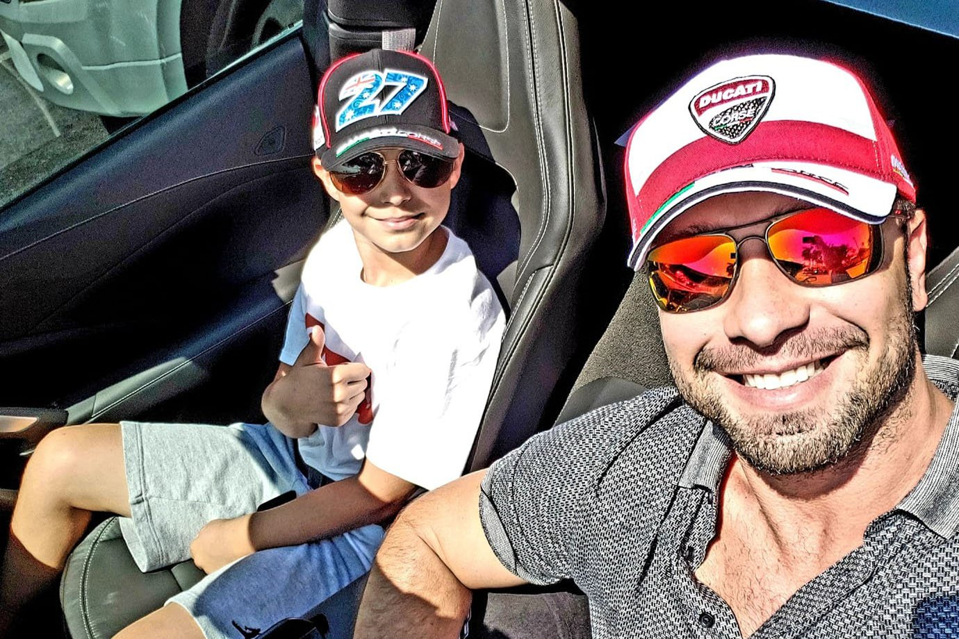 Daniel Toledo (Loyalty Miami) e o filho, Raphael