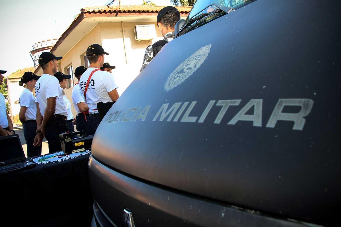 Carro da Polícia Militar do Paraná